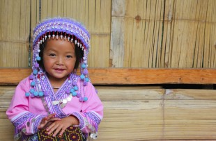 Cute Hmong girl